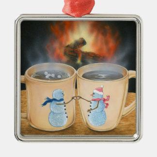 Toasting Snowmates Ornament