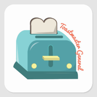 Toastmaster General Square Sticker