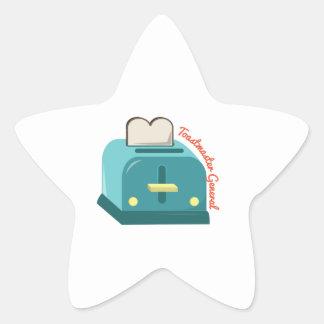 Toastmaster General Star Sticker