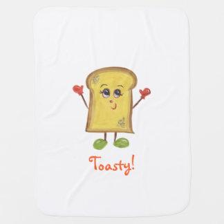 Toasty baby blanket