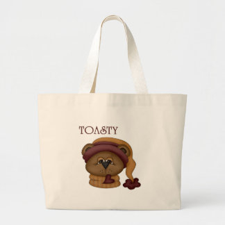 Toasty Bear with scarf Bags