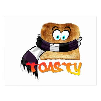 Toasty Bread Postcard