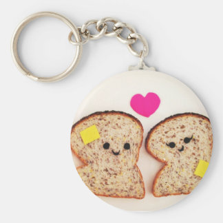 Toasty Love Keychain