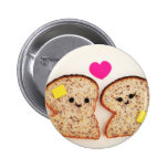 Toasty Love Pinback Buttons