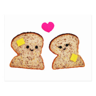 Toasty Love Postcard