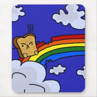 Toasty Rainbow Mouse Pad