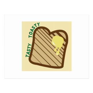 Toasty sabroso tarjetas postales
