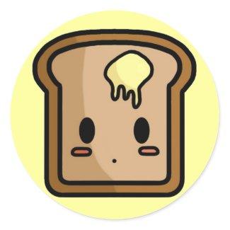 Toasty Stickers sticker