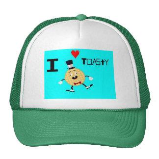 Toasty The Waffle Man Trucker Hat