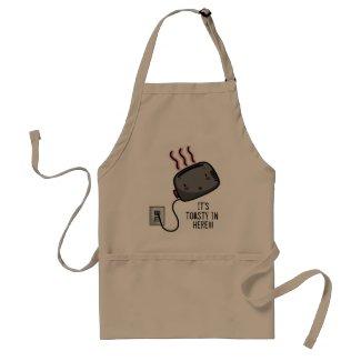 Toasty Toaster Apron apron