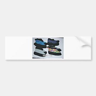 toasty toes handknit slippers bumper sticker