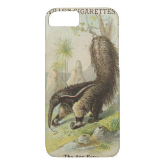 Tobacciana Vintage Wills Cigarette Card Ant-Eater iPhone 8/7 Case