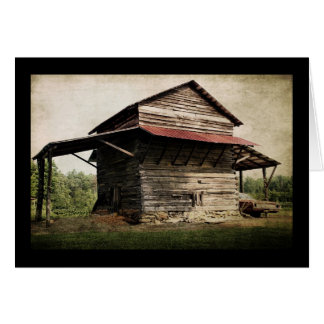 Tobacco Barn Card