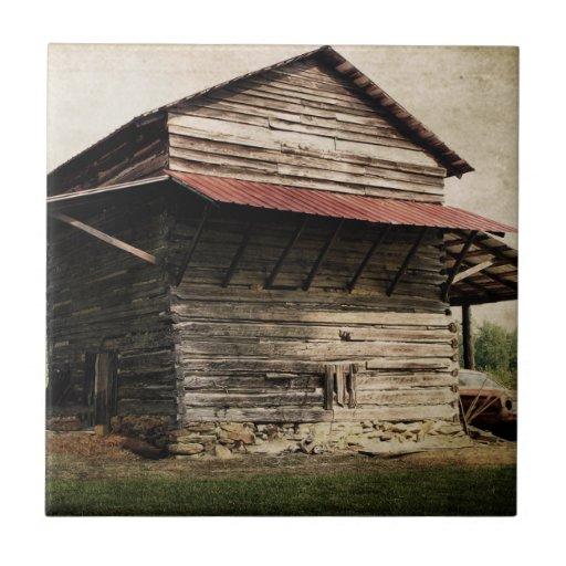 Tobacco Barn Ceramic Tiles