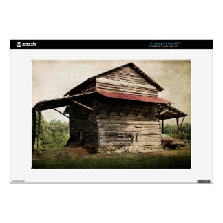 "Tobacco Barn Decal For 15"" Laptop"