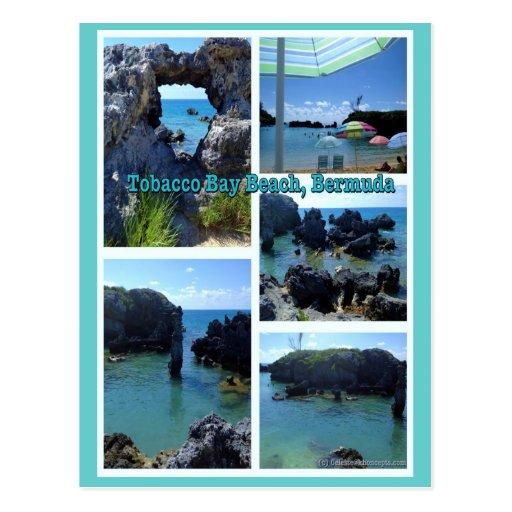 Tobacco Bay Beach, Bermuda Post Card