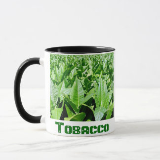 Tobacco field mug