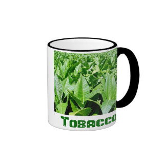 Tobacco field ringer coffee mug