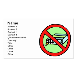 Tobacco Rights Business Card