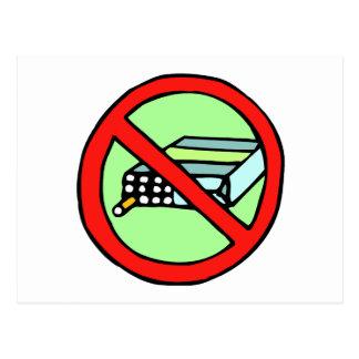 Tobacco Rights Postcard