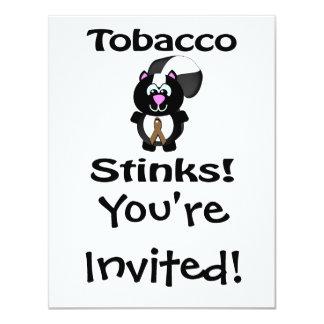 Tobacco Stinks Skunk Awareness Design Card