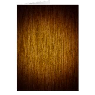 Tobacco Sunburst Grainy Wood Background Card