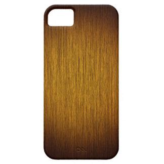 Tobacco Sunburst Grainy Wood Background iPhone 5 Case