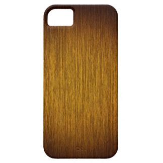 Tobacco Sunburst Grainy Wood Background iPhone 5 Cases