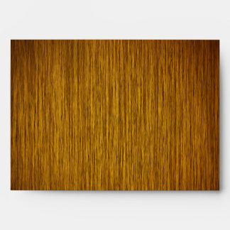 Tobacco Sunburst Grainy Wood Background Envelope