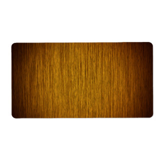 Tobacco Sunburst Grainy Wood Background Label