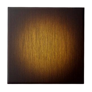 Tobacco Sunburst Grainy Wood Background Tile