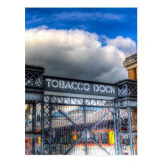 Tobaco Dock London Postcard