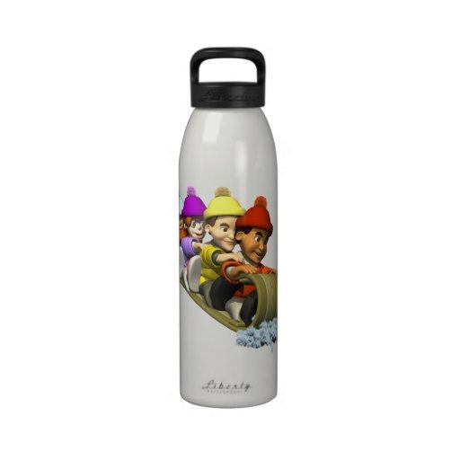 Tobaggan Botellas De Agua Reutilizables