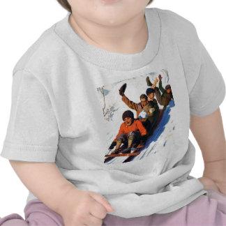 Tobagganing Tshirt