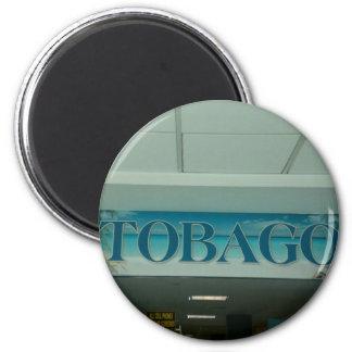 TOBAGO 2 INCH ROUND MAGNET
