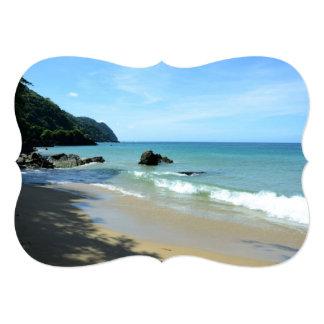 Tobago Beach 5x7 Paper Invitation Card
