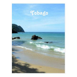 Tobago Beach Postcard
