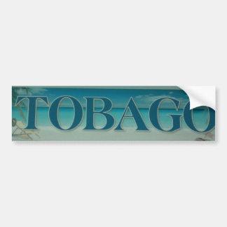 TOBAGO BUMPER STICKER