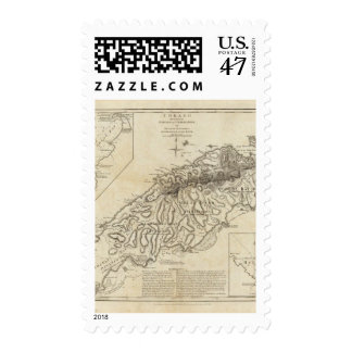 Tobago from actual surveys and observations postage