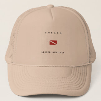 Tobago Lesser Antilles Scuba Dive Flag Trucker Hat