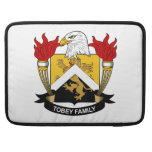 Tobey Family Crest Sleeve For MacBooks