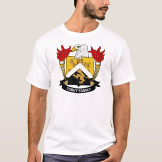 Tobey Family Crest T-Shirt