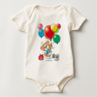 Tobi Teddy Bear for a very special person Bodysuits