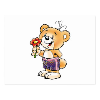Tobi Teddy Bear  Just for You Postcard