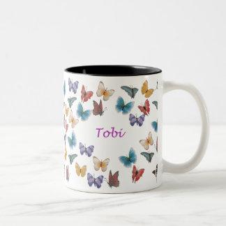 Tobi Two-Tone Coffee Mug