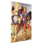Tobias and the Angel by Andrea del Verrocchio Canvas Prints