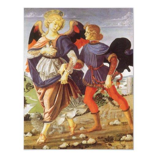 Tobias and the Angel by Andrea del Verrocchio Announcements