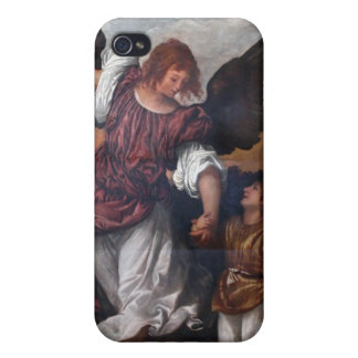 Tobias and the Archangel Raphael - Titian iPhone 4 Cases