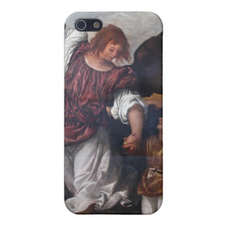 Tobias and the Archangel Raphael - Titian iPhone SE/5/5s Case
