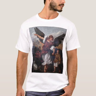 Tobias and the Archangel Raphael  - Titian T-Shirt